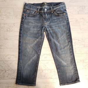 7 for All Mankind  Straight Jean Capris